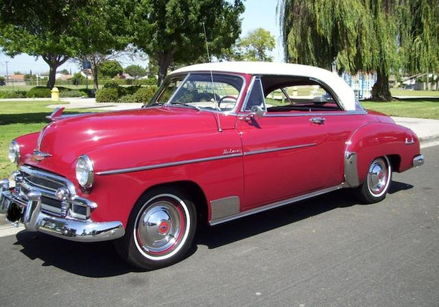 1950 Chevrolet Deluxe Bel Air Coupe  Chassis no. to be advised
