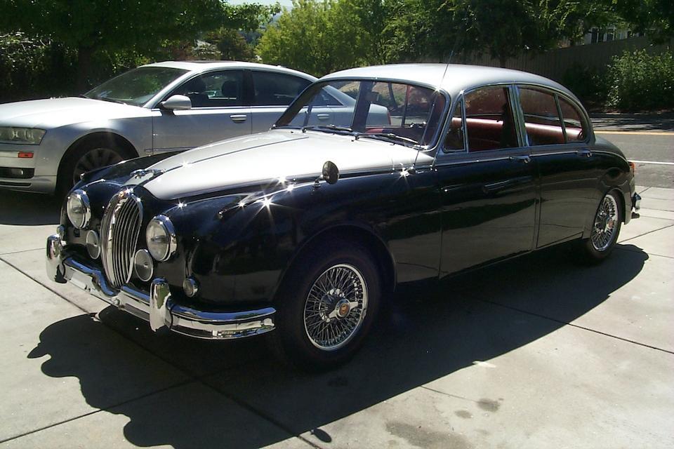 1960 Jaguar Mk2 3.8-Litre Saloon  Chassis no. P211126BW
