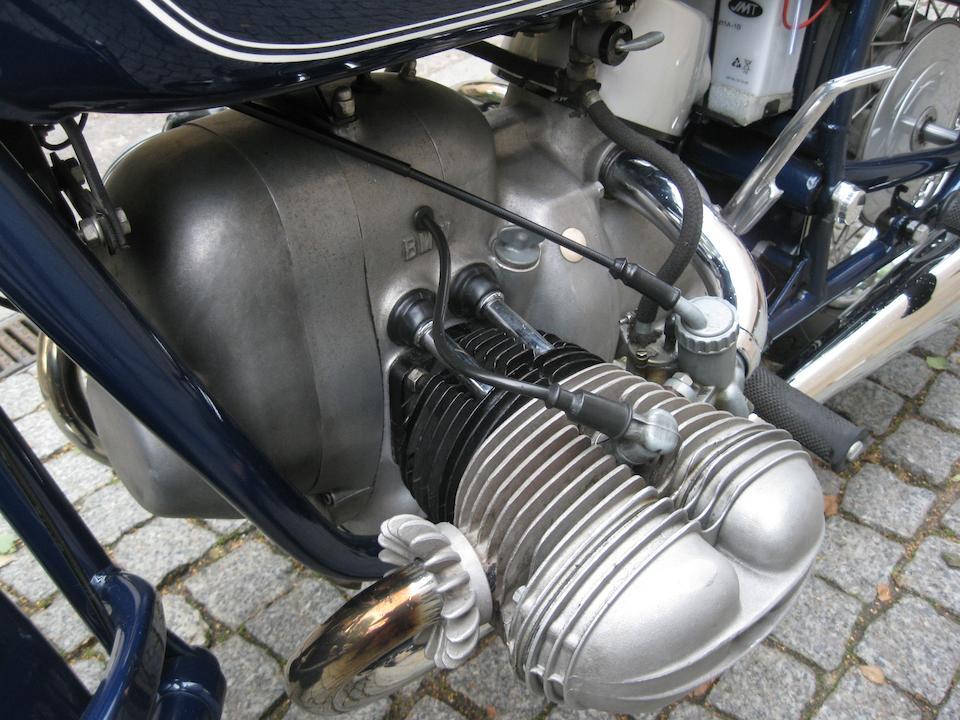 1969 BMW 594cc R69US Frame no. 665904 Engine no. 665904