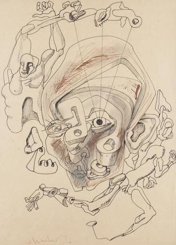 Ernst Iosipovich Neizvestny (Russian/American, born 1926) A study