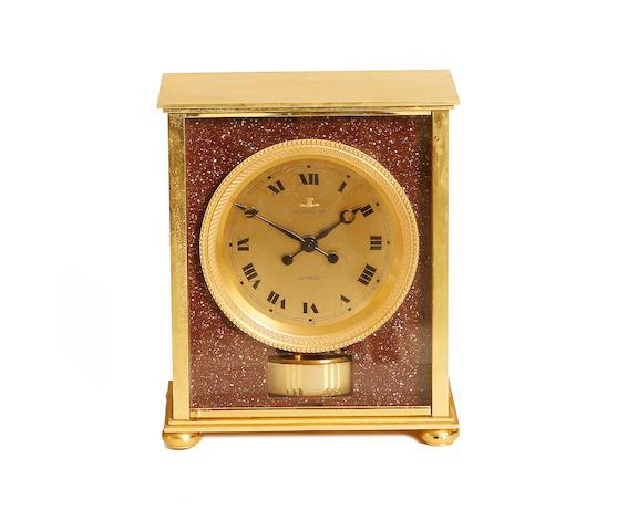 An Atmos mantel timepiece circa 1960 Jaeger–LeCoultre 'Embassy' model