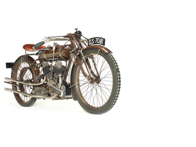 Property of a deceased's estate,c.1922 NUT 498cc Frame no. P5 Engine no. BTC/E 5322/FP