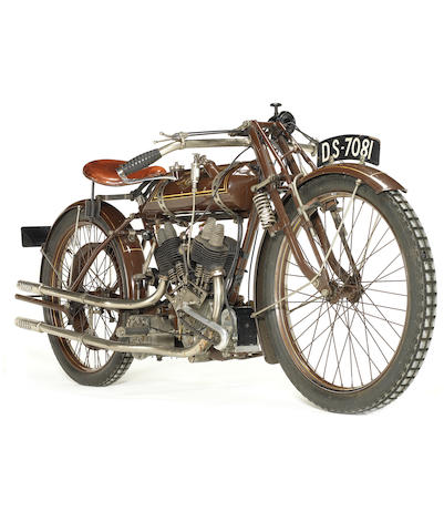 Property of a deceased's estate,c.1922 NUT 498cc Frame no. P5 Engine no. BTC/E 5322/FP