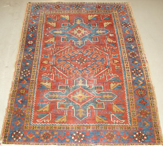 A Karaja rug, North West Persia, 126cm x 94cm