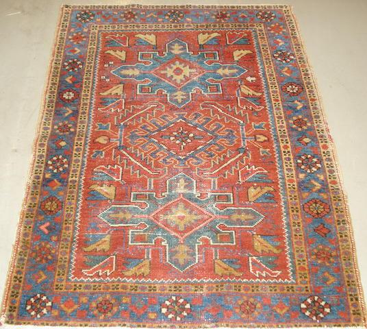 A Karaja rug, North West Persia, 126cm x 94cm