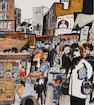 James Boswell (New Zealand, 1906-1971) Petticoat Lane