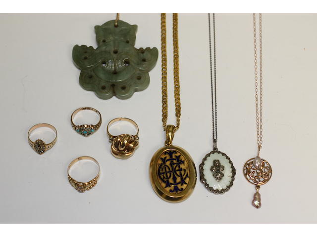 Assorted jewellery
