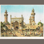 LAHORE The Mosque of Wuzeer Alee Khan, Lahore, [c.1858]