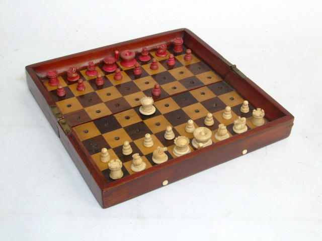 "An ""In Statu Quo"" travelling chess set"
