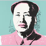 After Andy Warhol (American, 1928-1987) Mao The complete set of 10 screenprints printed in colours, on stiff wove, each with the Sunday B. Morning stamp verso, the full sheets, each 915 x 915mm (36 x 36in)(SH)