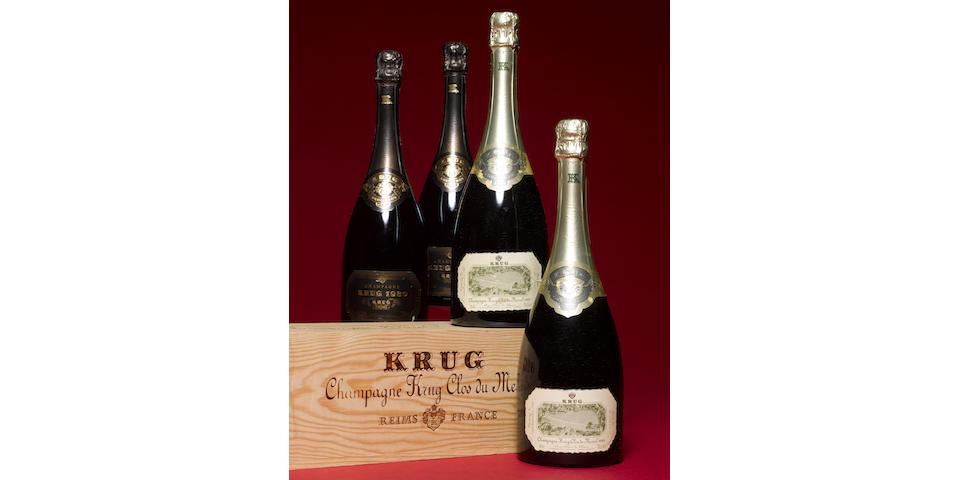 Krug Clos du Mesnil 1989 (2)<BR>Krug 1989 (2)