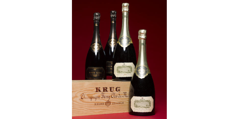 Krug Clos du Mesnil 1989 (2)  Krug 1989 (2)