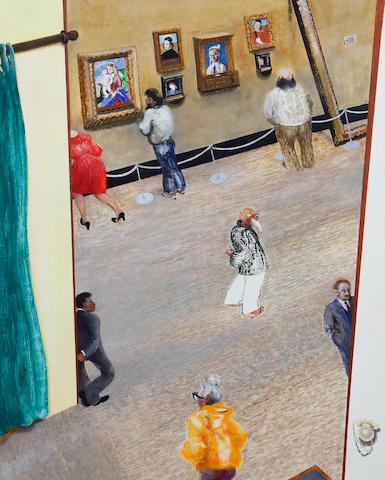 Maggi Hambling (British, born 1945) The National Gallery