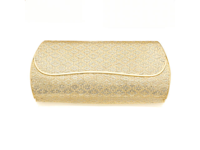 An evening bag