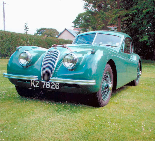 1953 Jaguar XK120 Coupé  Chassis no. 680172 Engine no. R8759-9
