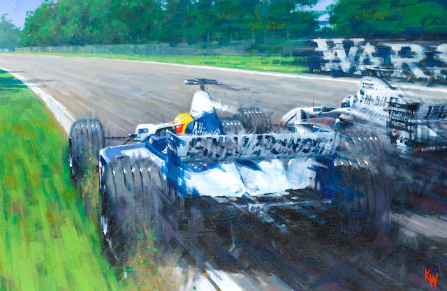Keith Woodcock, 'BMW Power Imola 2001',