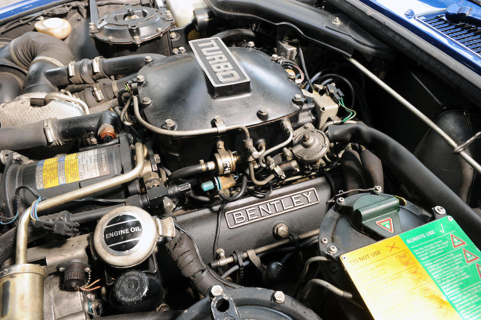 1988 Bentley Turbo R Empress II Sports Saloon  Chassis no. SCBZS0T00FCH13832 Engine no. 13832