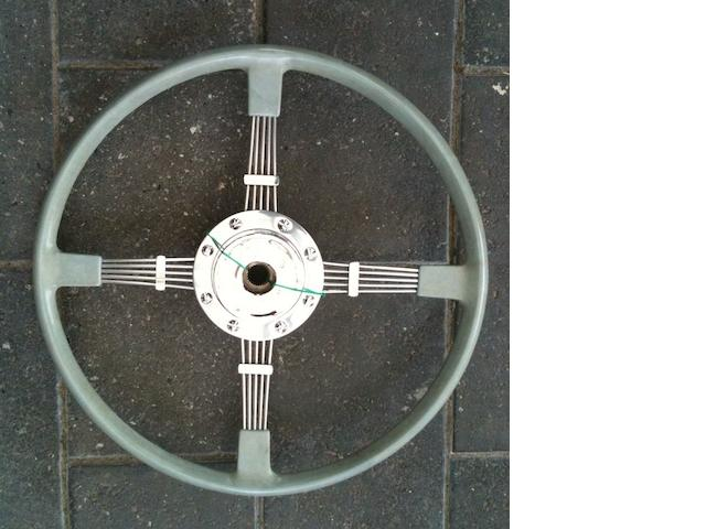 A Brooklands Bluemel steering wheel, suitable for BMW 327,