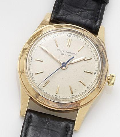 Patek Philippe. A fine manual wind centre seconds wristwatch Ref: 2483, Case No. 672934, Movement No. 702477, Circa 1940's