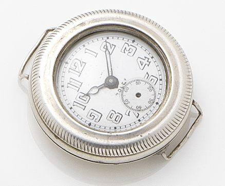 Rolex. A silver hermatic cased manual wind wristwatch 	Circa 1915