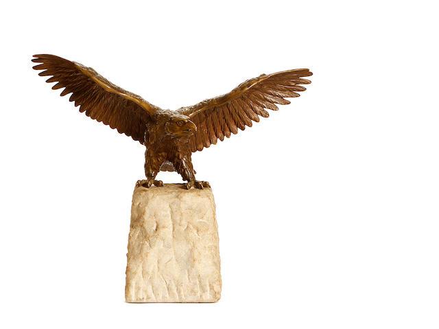 Eagle, 33cm, unsigned