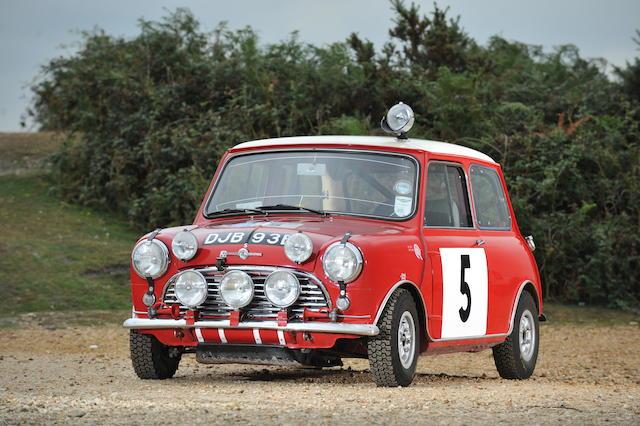 The Ex Works 1965 RAC Rally And 1966 Scottish Winner1964 Mini Cooper 1275