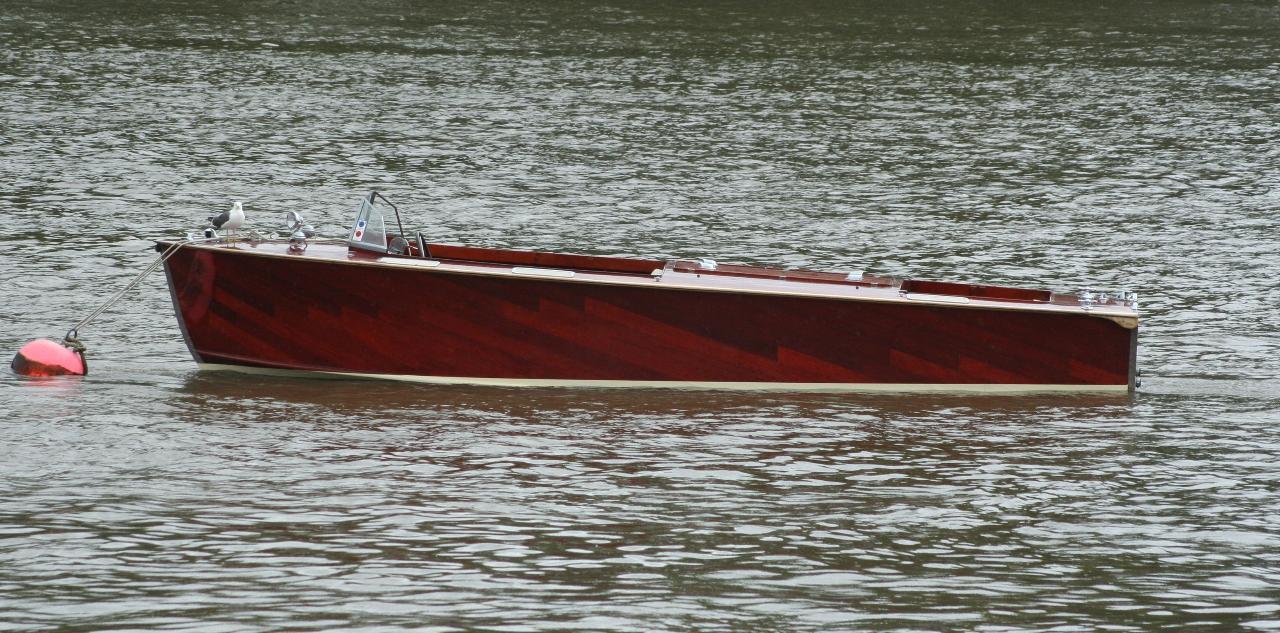 Medusa. A 1938 Classic Harbour Launch.