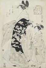 Chobunsai Eishi (1756-1829), Kitagawa Utamaro (1753-1806) and Kikukawa Eizan (1787-1867) Late 18th/early 19th century