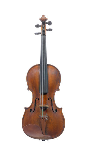 A French Violin, Panormo, Paris School circa 1760 (4)
