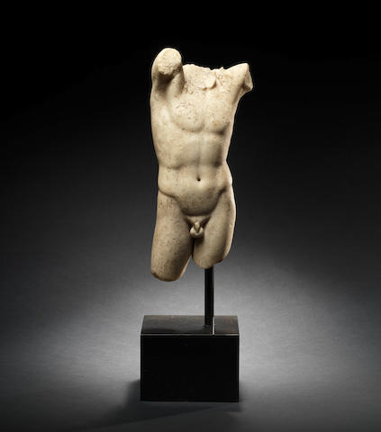 A Greek marble torso of Narcissus