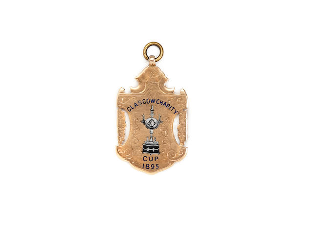 1895 Glasgow Charity Cup medal - T.Morrison