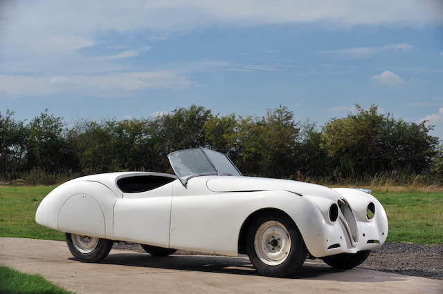 1950 Jaguar XK120 Alloy Roadster  Chassis no. 670043 Engine no. W11088-7