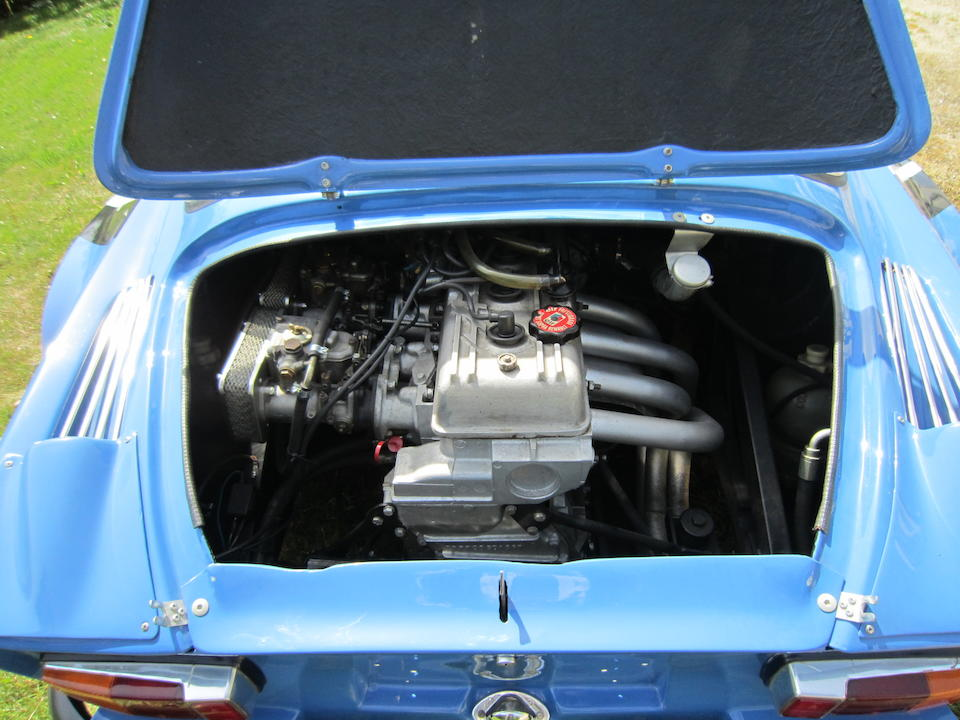 Formerly the property of Armin Schwarz,1972 Alpine A110 1600S 'Group IV' Specification Coupé  Chassis no. A110 12715 Engine no. 1565