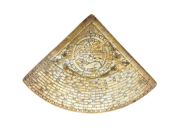 The Richard II brass horary quadrant, English, dated 1396