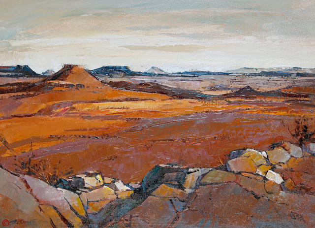 Titta Fasciotti (South African, 1927-1993) The Great Karoo