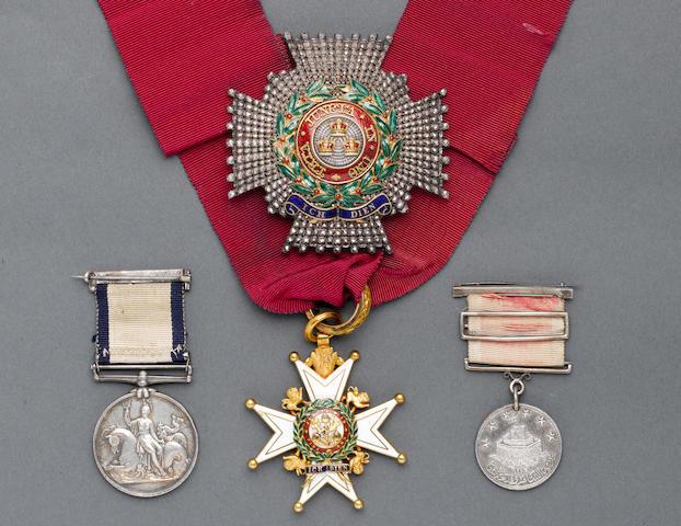 The K.C.B. and Pair to Admiral Sir Arthur Farquhar, Royal Navy,