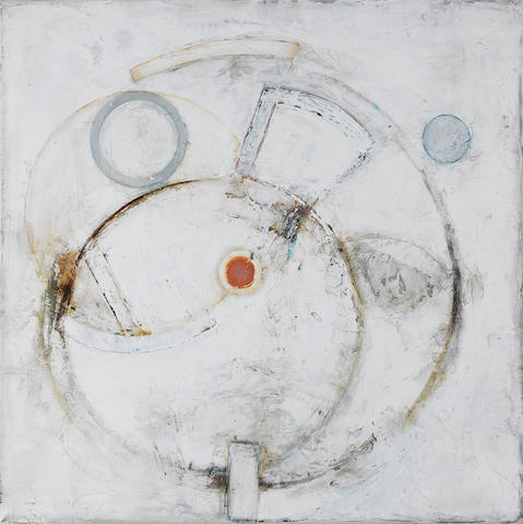 Paul Feiler (British, born 1918) Revolving Forms 1966 40.6 x 40.6 cm. (16 x 16 in.)