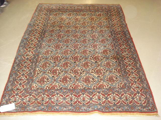 A Ghom rug Central Persia, 228cm x 145cm