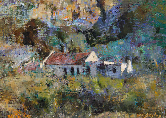 Errol Stephen Boyley (South African, 1918-2007) A homestead