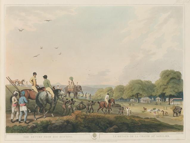 WILLIAMSON (THOMAS) and SAMUEL HOWITT Oriental Field Sports