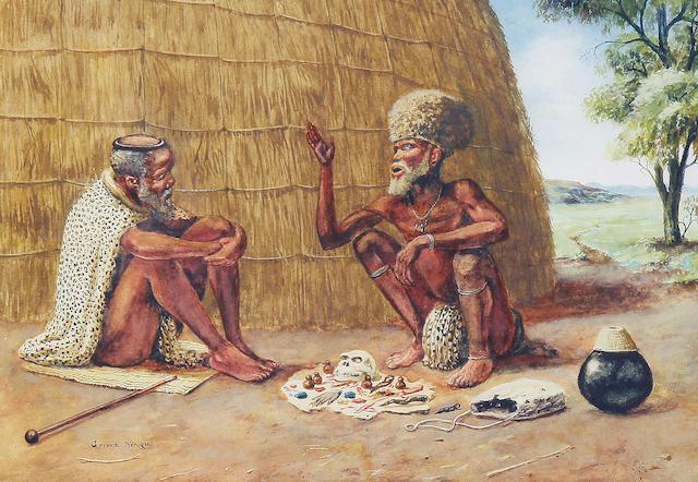 Gerard Bhengu (South African, 1910-1990) (image size)