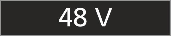 Number Plate '48 V'