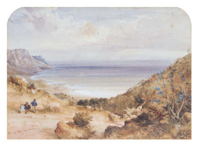 Thomas William Bowler (British, 1812-1869) 'Camps Bay from the Kloof'
