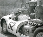 The Ex-Briggs Cunningham Team/Walt Hansgen/Ed Crawford/John Fitch,1958 Lister-Jaguar 'Knobbly' Sports-Racing Two-Seater  Chassis no. (BHL) EE101