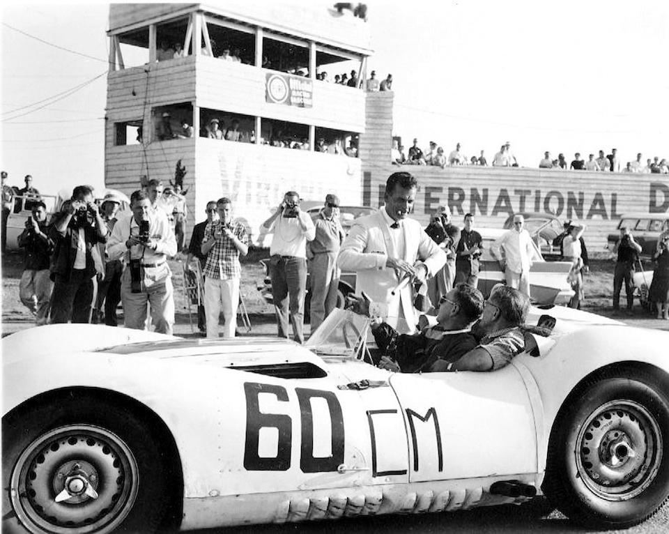 Bonhams : The Ex-Briggs Cunningham Team/Walt Hansgen/Ed