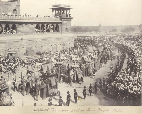 DELHI DURBAR, 1903 A collection of 10 views