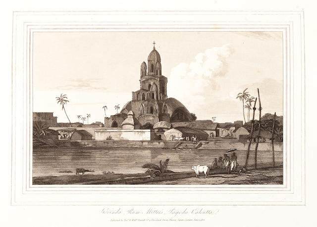 DANIELL (THOMAS and WILLIAM) Oriental Scenery... the 6 parts in 3 vol., 1812-1816