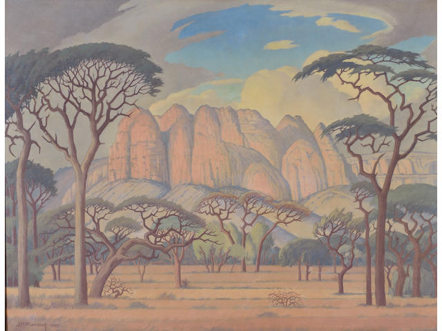 Jacob Hendrik Pierneef (South African