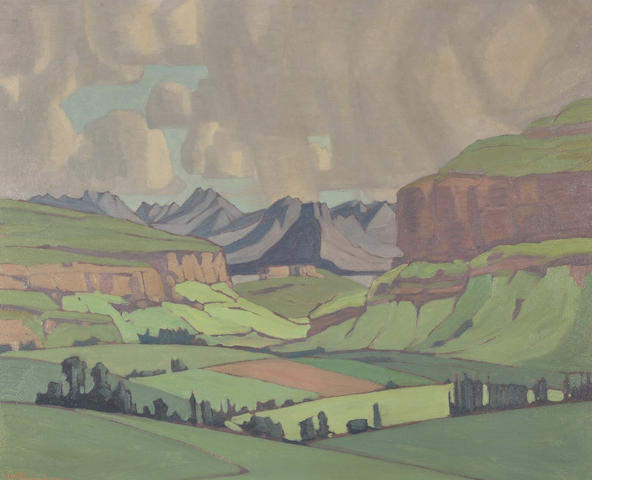 Jacob Hendrik Pierneef (South African, 1886-1957) Eastern Free State