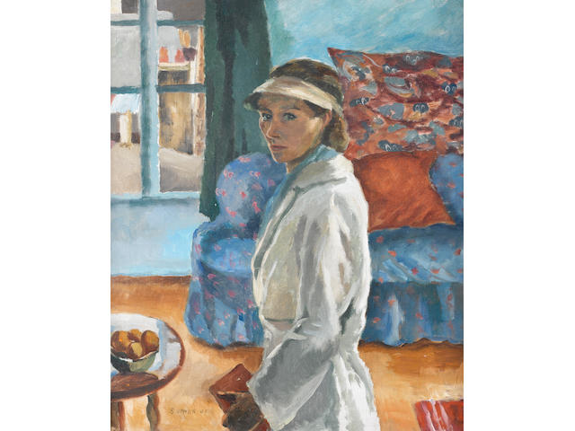 Maud Frances Eyston Sumner (South African, 1902-1985) Self Portrait, Paris